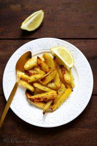 Comment préparer des pommes de terre rôties en forme de cœur
