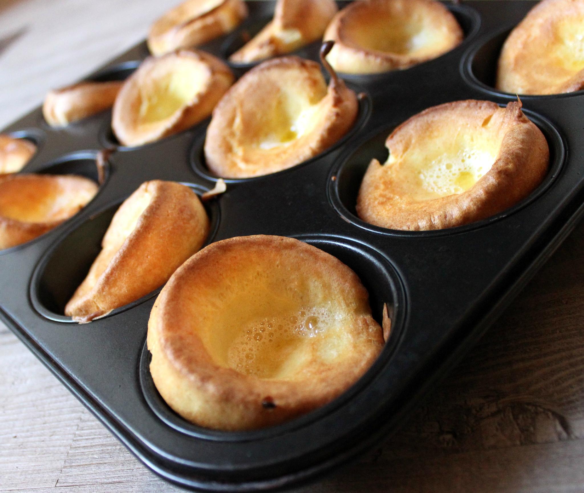 Comment préparer Mini Yorkshire Pudding